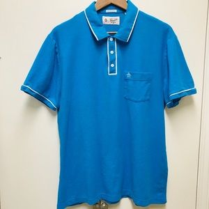 Original Penguin mens polo shirt slim Fit size XL